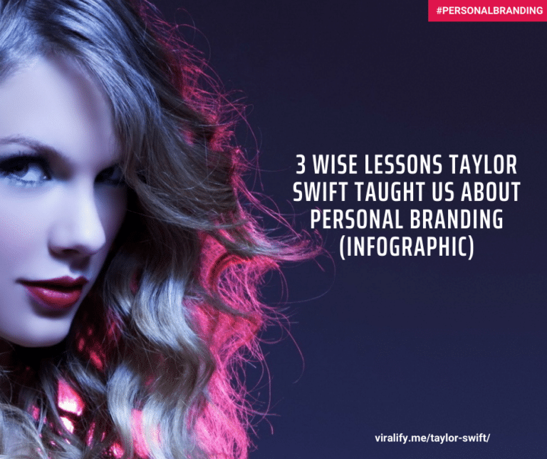 Read more about the article 3 wise Lessons Taylor Swift Taught us about personal branding (Infographic).