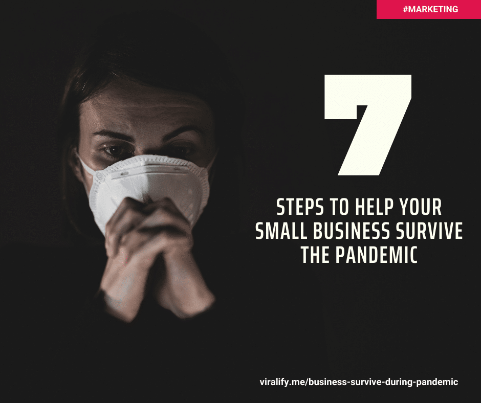 You are currently viewing Seven steps to help your small business survive the pandemic