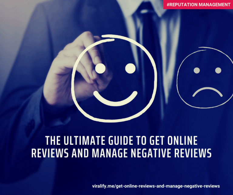 Read more about the article The ultimate guide to get online reviews (and manage negative reviews)