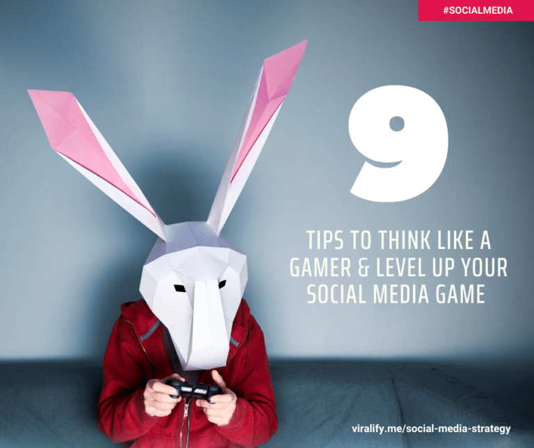 Read more about the article NINE TIPS TO think like a gamer & LEVEL up your social media strategy